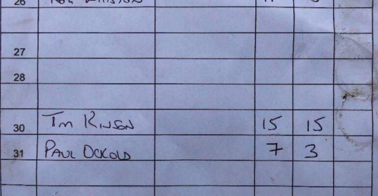 Branston Golf Course Wednesday 4th August 2021